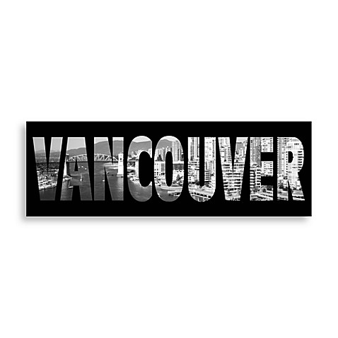 Vancouver Black and White Wall Art