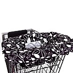 Balboa Baby® Shopping Cartand High Chair Cover in Black & White Leaf