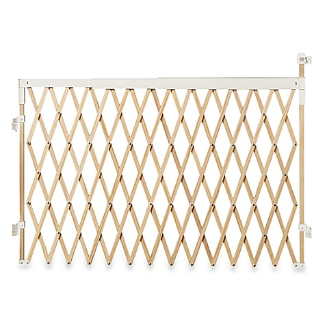 Buy Munchkin 174 Extra Wide Expanding Wood Gate From Bed Bath