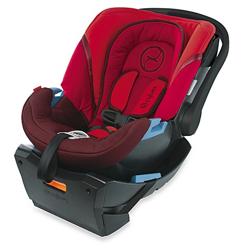 Cybex Aton Infant Car Seat in Chili Pepper
