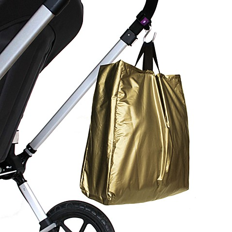 Think King Reusable Buggy Tote in Gold