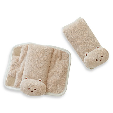 Summer Infant® CushyStraps™ Cushioned Strap Covers in Tan (Set of 2)