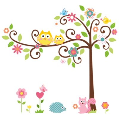 RoomMates Scroll Tree Peel & Stick Mega Pack Wall Decals