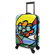 Britto™ Collection by Heys Flower 22-Inch Spinner with TSA Locks