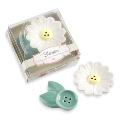 Kate Aspen® Blossom Salt and Pepper Shakers