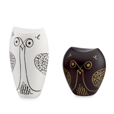 kate spade new york Woodland Park Owl Salt & Pepper Set