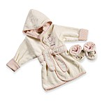 Just Born® Naturals Robe & Bootie Set in Newborn to 9 months in Elephant