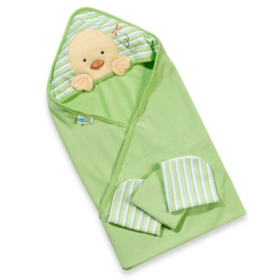 Just Born® 4-Piece Bath Set - Yellow Duck
