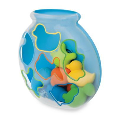SKIP*HOP® Sort & Spin Fish Bowl Shape Sorter Bath Toy