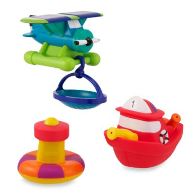 Sassy® Rescue Vehicles Bath Toys