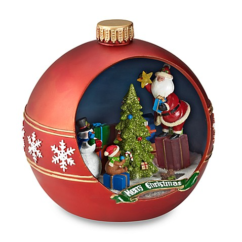 Holiday Ornament Scene