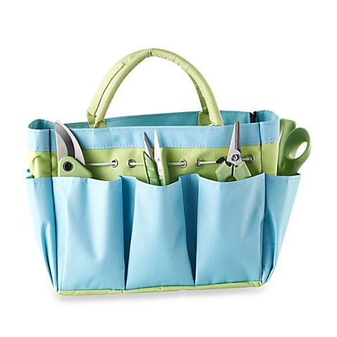 4-Piece Garden Tool Set with Canvas Tote