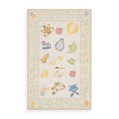 Momeni 'Lil Mo Classic LMI-02 Pale Rug in Yellow Area