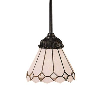 ELK Lighting 1-Light Pendant in Clear Diamond