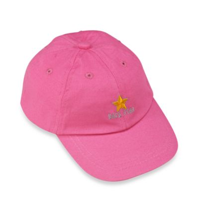 Silly Souls® Rock Star Size 2 to 4 Years Ball Cap in 2-4 Pink