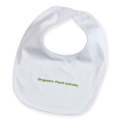 Silly Souls® 100% Organic Pest In-Side in Bib in White