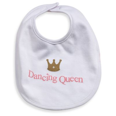 Silly Souls® Dancing Queen in Bib in White
