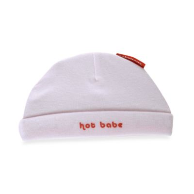Silly Souls® Hot Babe Size 12 Months Beanie in Pink