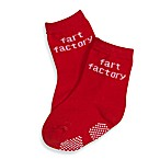 Silly Souls® Fart Factory in Socks in 1-2 years in Red