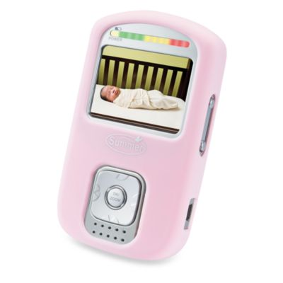 Video Monitors > Summer Infant Best View™ Handheld Color Video Monitor Silicone Case in Pink