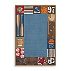 Momeni 'Lil Mo Whimsy LMJ-4 Area Rug in Denim