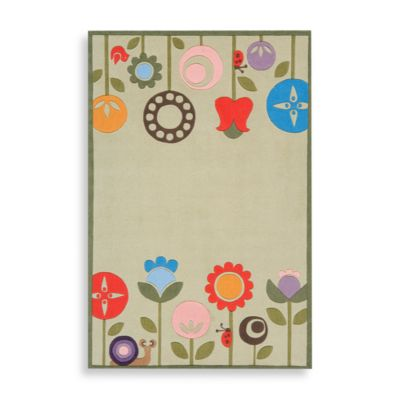 Momeni 'Lil Mo Whimsy 2-Foot x 3-Foot Area Rug in Grass