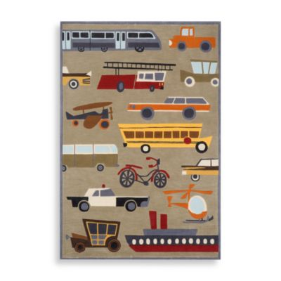 Momeni 'Lil Mo Whimsy LMJ-8 Area Rug in Concrete