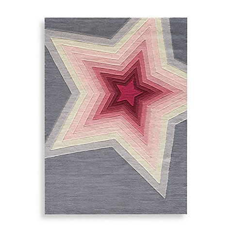 Momeni 'Lil Mo Hipster Superstar 5-Foot Round Area Rug
