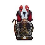 Himalayan Breeze Large Basset Hound Table Fan