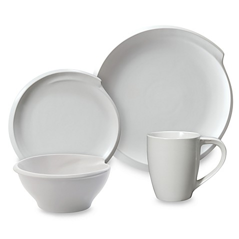 Nambe Currents Winter Snow 4-Piece Place Setting