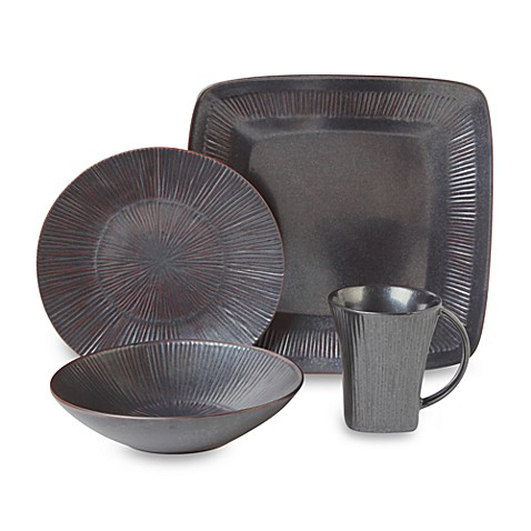 Nambe Sunburst Metallic Sunrise 4-Piece Place Setting