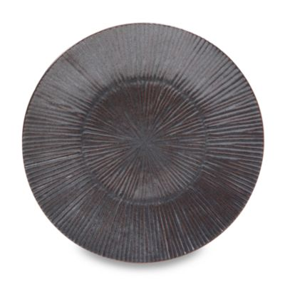 Nambe Sunburst Metallic Sunrise 9 1/8-Inch Dessert Plate (Set of 4)