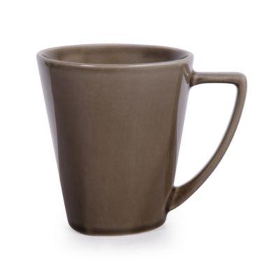 Nambe Tri-Corner Espresso 13-Ounce Mug (Set of 4)