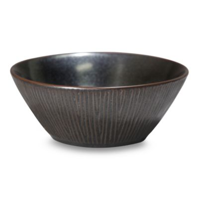 Nambe Tri-Corner Smoke 7 1/4-Inch Soup/Cereal Bowl (Set of 4)