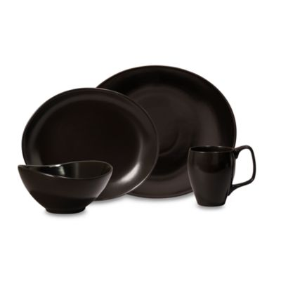 Nambe Butterfly II Onyx 4-Piece Place Setting