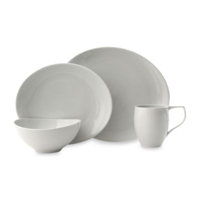 Nambe Butterfly II Winter Snow 4-Piece Place Setting