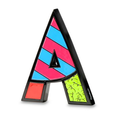 "Britto™ by Giftcraft Wall/Table Letter ""A"""