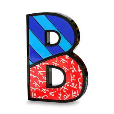 Britto Wall Table Letter