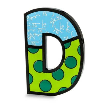 "Britto™ by Giftcraft Wall/Table Letter ""D"""