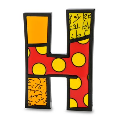 "Britto™ by Giftcraft Wall/Table Letter ""H"""