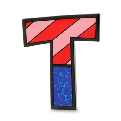 "Britto™ by Giftcraft Wall/Table Letter ""T"""