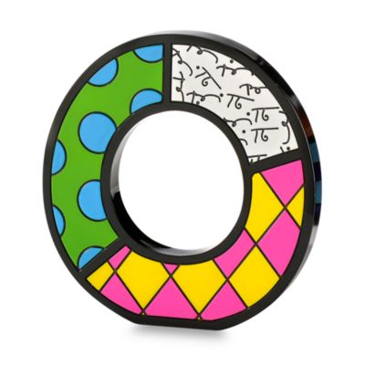 "Britto™ by Giftcraft Wall/Table Letter ""O"""