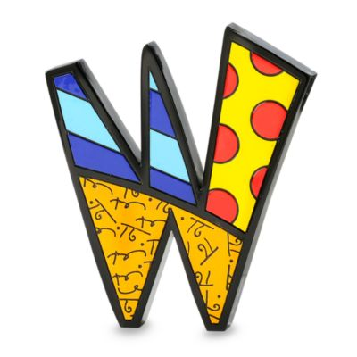 "Britto™ by Giftcraft Wall/Table Letter ""W"""