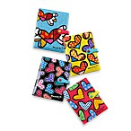 Britto™ by Giftcraft Heart Design Passport Covers