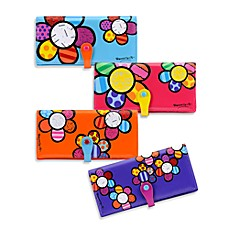 Britto™ by Giftcraft Flower Design Clutch Wallet