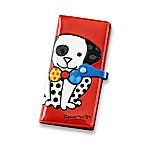Britto™ by Giftcraft Dalmation Dog Design Red Clutch Wallet