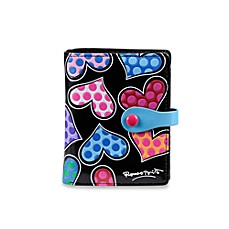 Britto™ by Giftcraft Heart Design Black Bi-Fold Wallet