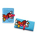 Britto™ by Giftcraft Heart Design Blue Wallets