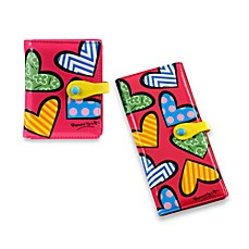 Britto™ by Giftcraft Heart Design Pink Wallets