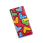 Britto™ by Giftcraft Heart Design Pink Clutch Wallet